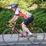 Kurt bicycling